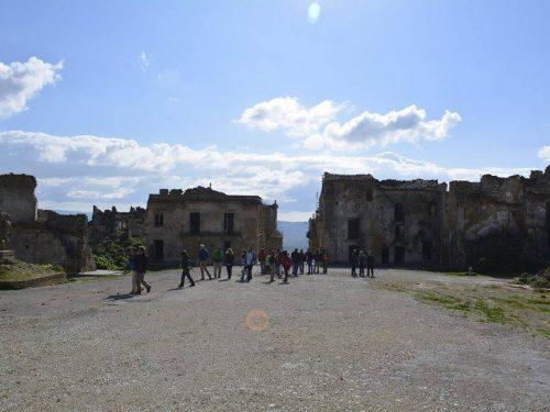 Trekking  19.01.17 Monte Castellazzo (Poggioreale)