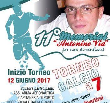 11° Memorial Antonino VIA
