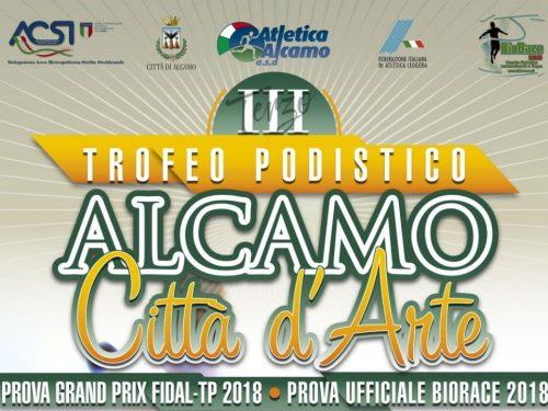 """3° Trofeo Podistico """" Alcamo città d'Arte"""""""