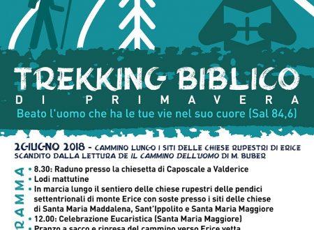 Trekking biblico di primavera – 02 Giugno 2018