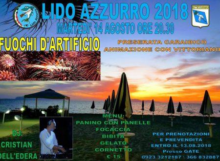 Fuochi d'artificio al Lido Azzuro 14.08.18