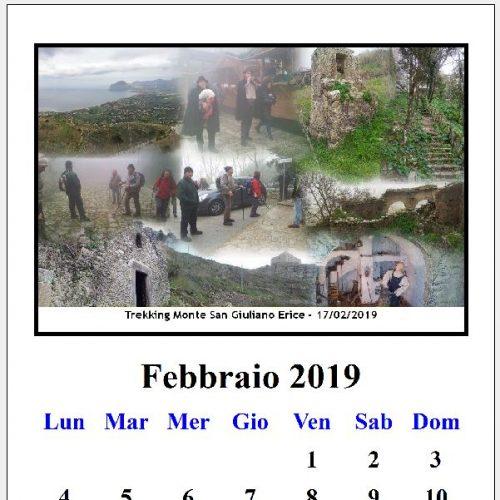 Trekking in calendario a febbraio 2019
