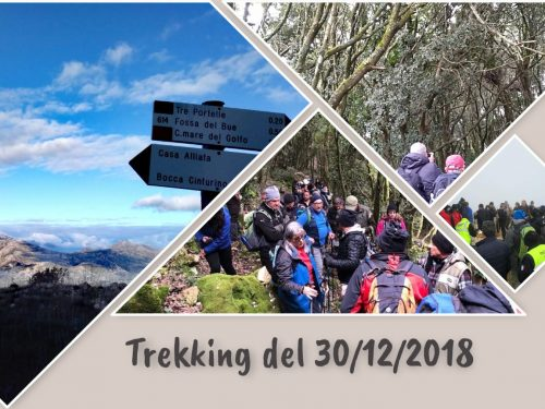 Galleria trekking 30/12/2018
