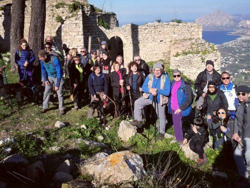 Video 2 Trekking Monte Erice 17/02/19
