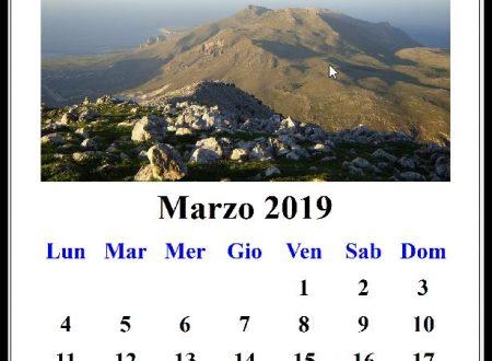 Trekking a Marzo 2019