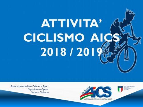 Ciclismo e AICS 2019 – Notizie utili