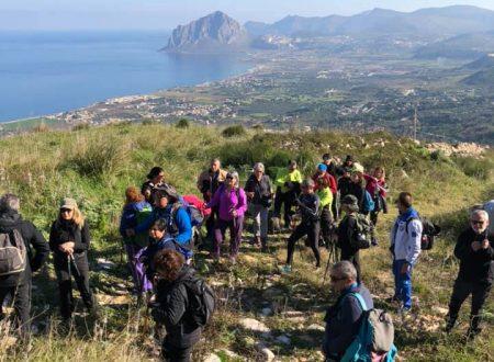 Galleria Trekking Monte Erice del 17/02/19