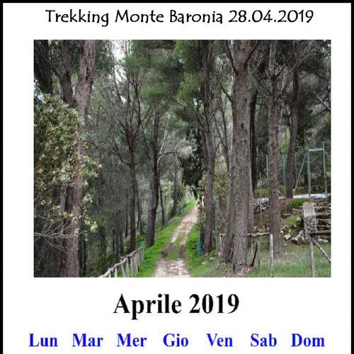 locandina Trekking Aprile 2019