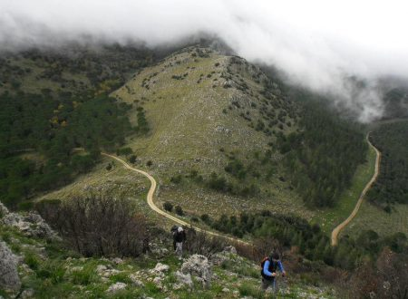 """Trekking – 5°/19, """" Pizzo Stagnone"""" M. Inici."""