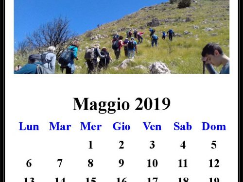 "In programma Trekking – 5°19, "" Pizzo Stagnone"" M. Inici"