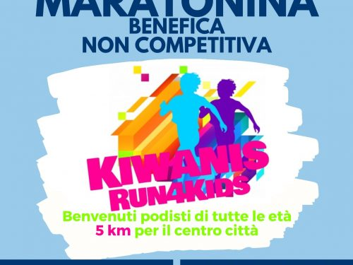 Kiwanis Run4Kds – Maratonina Benefica