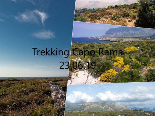 "Trekking – 6°/19, "" RNO Capo Rama"" Terasini."