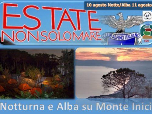 "Trekking notturno ""Alba di San Lorenzo"""