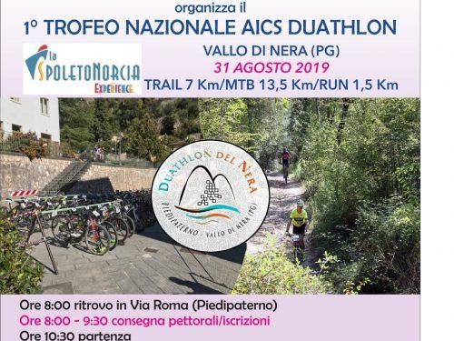 1° Trofeo Nazionale AICS Duathlon
