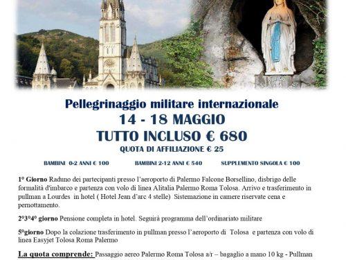 Pellegrinaggio Internazionale Militare Lourdes 2020