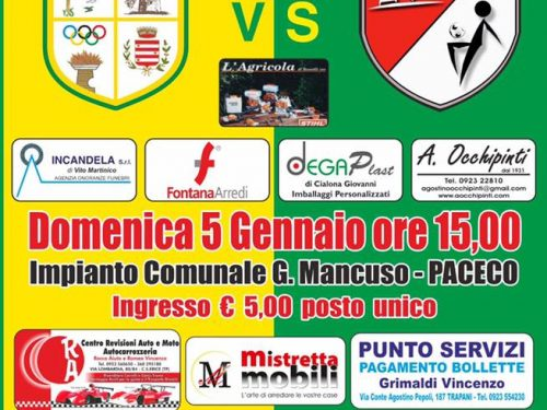 Asd Dattilo Noir  VS ACD Don Carlo Misilmeri  – 05.01.20