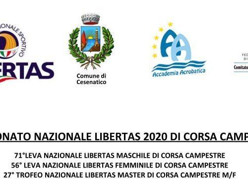 Campionato nazionale Libertas 2020 di corso campestre