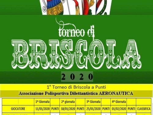 1° Torneo di Briscola 2020