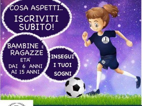 Scuola calcio femminile al ASCD Number On